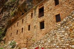 Het Klooster van heilige Elishaa stock afbeelding