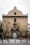 Het klooster van heilige Ursula, Valencia - Spanje Stock Afbeeldingen