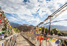 Het klooster van Hemis in Ladakh, India Royalty-vrije Stock Fotografie