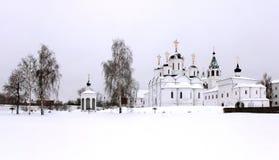 Het klooster van het ensemble in Murom, Rusland stock afbeelding
