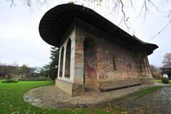 Het klooster van het humeur in Bucovina, Roemenië Stock Foto's