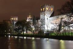 Het klooster van het Novodevichyklooster, Moskou, Rusland Stock Fotografie