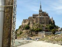 Het Klooster van het Saint-Michel van Mont stock foto's