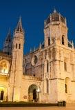 Het Klooster van Hieronymites in Lissabon royalty-vrije stock foto's