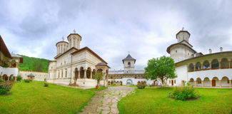 Het Klooster van Horezu Stock Foto's