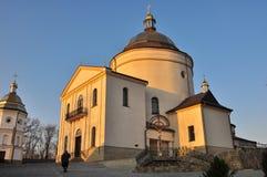 Het Klooster van Hoshivskyy Stock Afbeelding