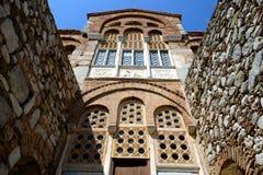 Het klooster van Hosiosloukas, Griekenland Royalty-vrije Stock Foto's