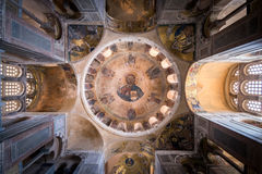 Het klooster van Hosiosloukas, Griekenland Royalty-vrije Stock Afbeelding