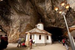 Het klooster van Ialomita Stock Fotografie