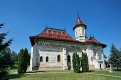 Het klooster van Ioan Cel Nou van Sf Stock Fotografie