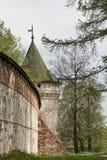 Het klooster van Ipatievsky in Kostroma, Rusland. Stock Fotografie