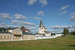 Het klooster van Iversky, Rusland Stock Afbeeldingen