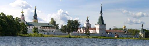 Het Klooster van Iversky van Valday, Rusland Stock Afbeeldingen
