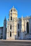 Het Klooster van Jeronimos in Belem Stock Afbeeldingen