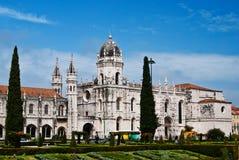 Het Klooster van Jeronimos - Lissabon Royalty-vrije Stock Afbeelding