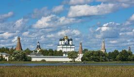 Het Klooster van Joseph - Volokolamsk- Royalty-vrije Stock Foto
