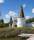 Het Klooster van Joseph - Volokolamsk- Stock Foto's