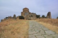 Het klooster van Jvari Stock Foto