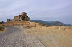 Het klooster van Jvari Stock Foto's