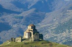 Het Klooster van Jvari Stock Afbeeldingen