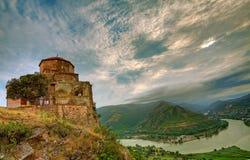 Het Klooster van Jvari Stock Fotografie