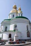 Het klooster van Kiev-Pechersk Lavra in Kiev, de Oekraïne Stock Foto's