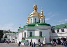 Het klooster van Kiev-Pechersk Lavra in Kiev, de Oekraïne Royalty-vrije Stock Afbeeldingen