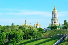 Het klooster van Kiev Pechersk Lavra in Kiev, de Oekraïne Royalty-vrije Stock Foto's
