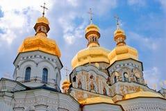 Het klooster van Kiev-Pechersk Lavra in Kiev. De Oekraïne Stock Afbeeldingen