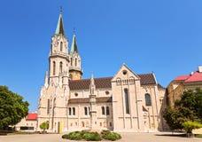 Het Klooster van Klosterneuburg is een twaalfde-eeuwmonast Van Augustinus stock foto's