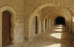 Het klooster van Kreta Arkadi Royalty-vrije Stock Foto