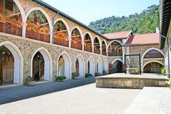 Het Klooster van Kykkos stock foto's