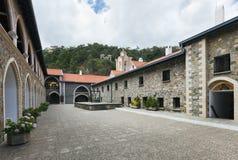 Het Klooster van Kykkos, Cyprus Stock Fotografie