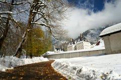 Het Klooster van La Grande Chartreuse, Frankrijk Royalty-vrije Stock Fotografie