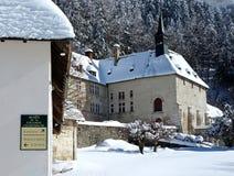 Het Klooster van La Grande Chartreuse, Frankrijk Stock Afbeeldingen