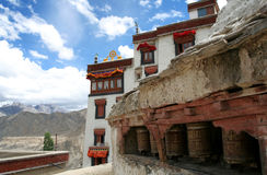 Het Klooster van Lamayuru, Ladakh, India Royalty-vrije Stock Foto
