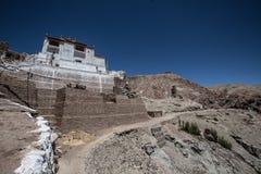 Het Klooster van Lamayuru, Ladakh, India royalty-vrije stock fotografie