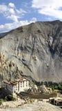 Het Klooster van Lamayuru, Ladakh, Indisch Himalayagebergte Royalty-vrije Stock Foto's