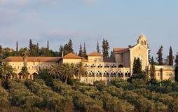 Het klooster van Latrun royalty-vrije stock afbeelding