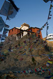 Het klooster van Leh stock afbeelding