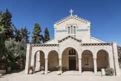 Het klooster van maagdelijke Mary en de Bak van de Overeenkomst, Abu Ghosh royalty-vrije stock afbeeldingen