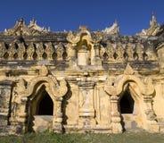 Het klooster van Maha Aungmye Bonzan, Inwa, Birma Stock Afbeelding
