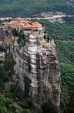 Het klooster van Meteora Stock Afbeelding
