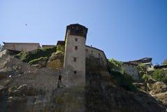Het klooster van Meteora Stock Fotografie