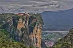 Het klooster van Meteora Stock Afbeeldingen