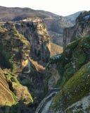 Het Klooster van Meteora royalty-vrije stock afbeeldingen