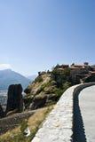Het klooster van Meteora, Griekenland Stock Afbeeldingen