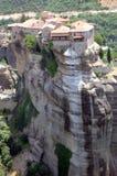 Het klooster van Meteora in Griekenland Royalty-vrije Stock Fotografie