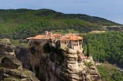 Het klooster van Meteora, Griekenland Royalty-vrije Stock Foto