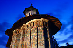 Het klooster van Moldovita Stock Fotografie
